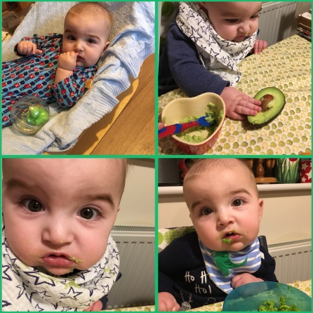 The many faces of Benjamin's weaning so far...