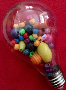 Rainbow beads.
