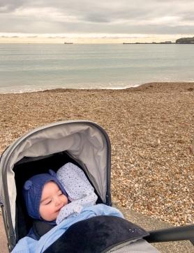 A blustery beach walk...