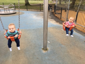 The swings of calmness!